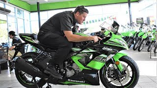 9. 2017 Kawasaki Ninja ZX 636 - ZX6R Quick Review