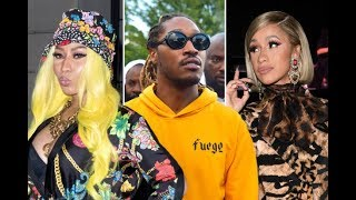 Nicki Minaj Allegedly forced Future to get off of Cardi B's song 'Drip' To Stay on her Tour.