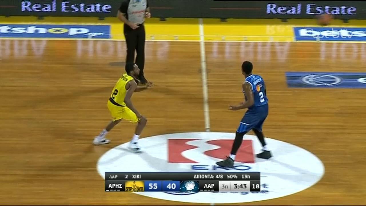 Basket League 2019-2020: ΑΡΗΣ – ΛΑΡΙΣΑ | HIGHLIGHTS | 18/01/2020 | ΕΡΤ
