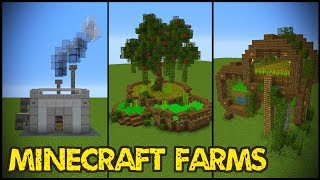11 Minecraft Farm Designs! Minecraft farming with a farm house design, ideas and tutorial! What showcase would you like to see next?Thanks to happyjellyfish and pearlescentmoon for their help.Follow me!- Twitter: https://twitter.com/GrianMC- Facebook: https://www.facebook.com/GrianMC- Twitch: http://www.twitch.tv/Grianmc- Instagram: https://www.instagram.com/grianmc/-Powered by Chillblast: Chillblast.com