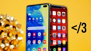Video Samsung Galaxy S10+ Review! Switching Back to iPhone.. MP3, 3GP, MP4, WEBM, AVI, FLV Maret 2019