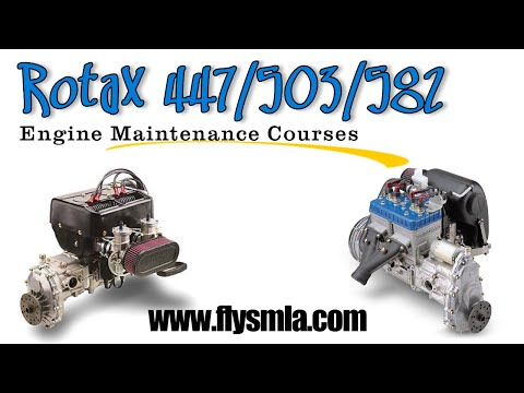 Rotax two stroke engine repair courses