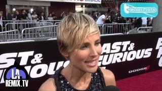 Nonton Entrevista a Elsa Pataky en la carpeta roja del Estreno de la película Fast And Furious 6 Film Subtitle Indonesia Streaming Movie Download