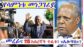 ዶ/ር መረራና 115 እስረኞች ተፈቱ፤ «ሌሎቹስ»? Dr Merera Gudina and other 115 Released, what about others? - DW