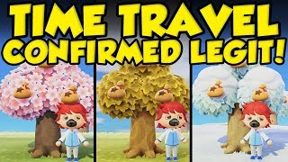 TIME TRAVEL CONFIRMED LEGITIMATE BY NINTENDO!!! Animal Crossing New Horizons 1.1.1 Update! by Verlisify
