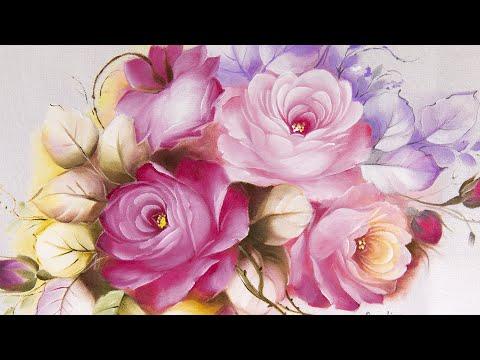 Rosas Perfeitas em Tecido