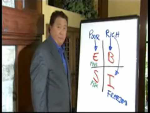 quadrant - Author of rich dad poor dad Rober kiyosaki explains what network marketing is and how it fit into the