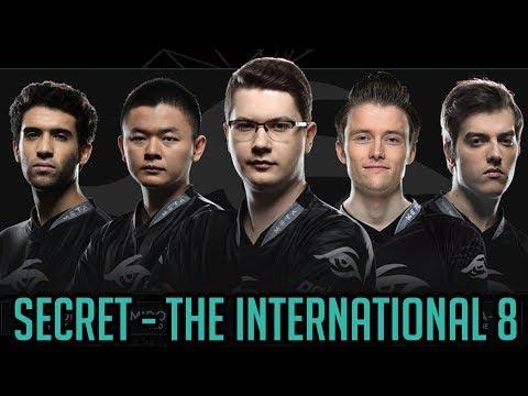 Secret Profile. The International 8 Directly Invited Team. TI8 Dota 2 by Time 2 Dota #dota2 #ti8