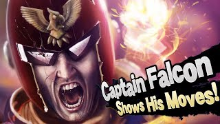 Captain Falcon Shows Off His NEW MOVES…