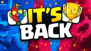 Clash Royale 20 WIN CHALLENGE IS BACK! What will you use?