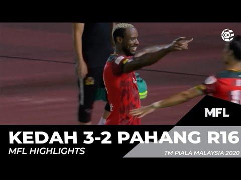 KEDAH 3-2 PAHANG R16 | MFL HIGHLIGHTS 2020