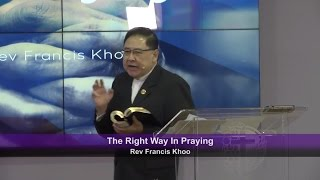 The Right Way In Praying