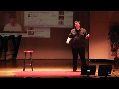 Life enrichment through video blogging: Tony Lee Glenn at TEDxHickory
