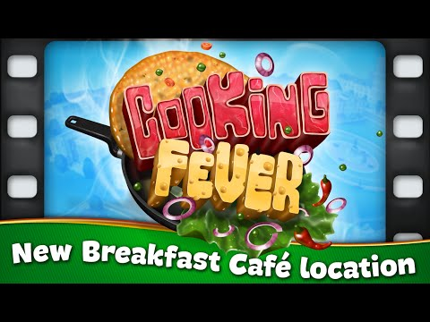 Cooking Fever – Breakfast Café Update
