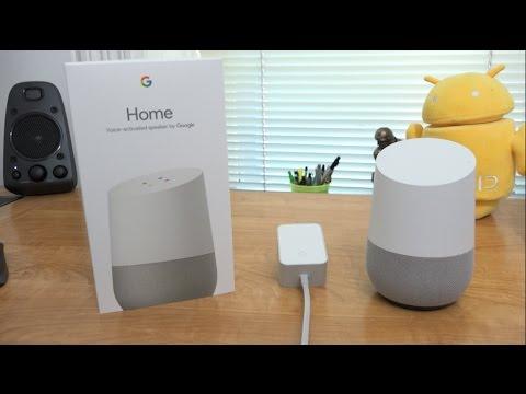 Google Home Unboxing and Setup! (видео)