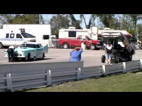 Great Lakes Nostalgia Funny Car Circuit - Pittsburgh Raceway Park 9-19-2009
