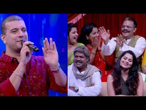Thakarppan Comedy I Counter King Ramesh Pisharody on the floor I Mazhavil Manorama
