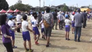 羽黒小学校運動会5午前3・リレー犬山踊ろ
