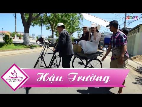 Hậu trường Hành trình văn hóa Việt | Á hậu Thanh Tú không ngại dang nắng cùng MC Vũ Mạnh Cường