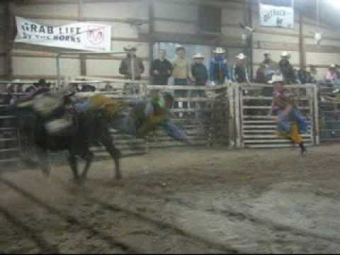 Lot #3817 - 4yr Old Bucking Bull - Video 3 of 4
