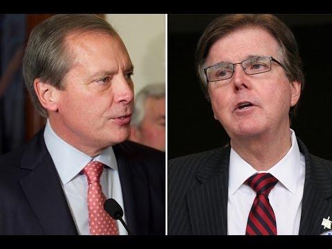 Video: Dewhurst, Patrick Debate at Tea Party Event