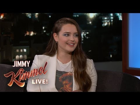 Katherine Langford on 13 Reasons Why, Australia & Doctor Parents