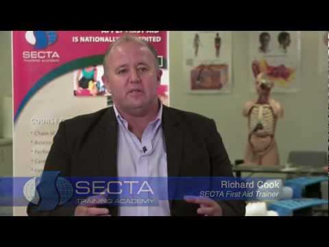 SECTA First Aid Training promo
