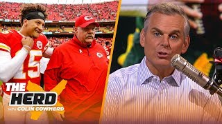 Colin: 'Of course Green Bay should draft a QB,' Chiefs are most likely next dynasty | NFL | THE HERD