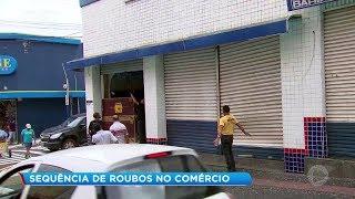 Marília: sequência de furtos no comércio