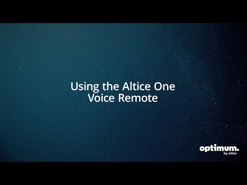 Altice One: How To Use Your Altice One Remote