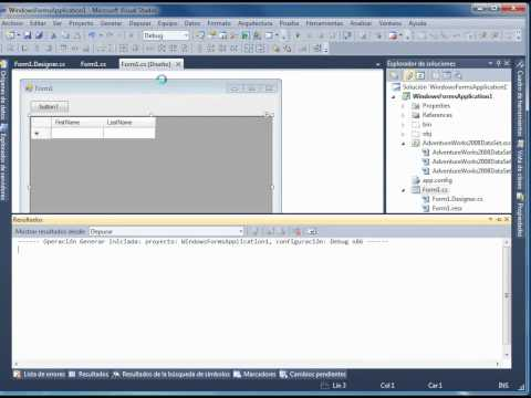 Video 4 de Visual Studio: Crear un programa Windows Forms