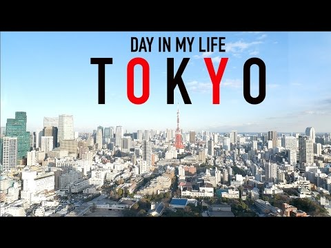 Day In My Life In Tokyo, Japan | Everyday Living & Working In Japan (видео)