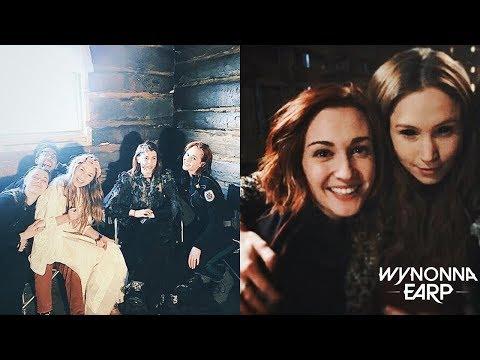 Wynonna Earp Behind The Scenes Season 2 From Twitter [BTS]