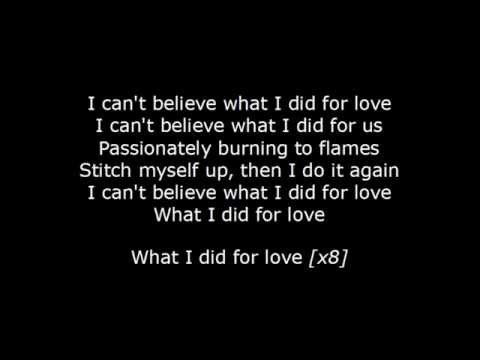 David Guetta ft. Emeli Sandè - What i did love Lyrics