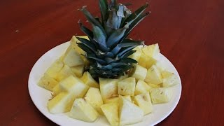 HowTo Cut A Pineapple Properly