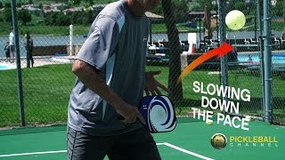 Defend Against Hard Hitters by Taking Pace Off the Ball - Pickleball 411