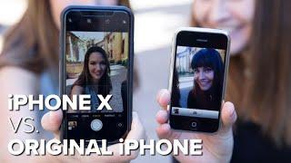 iPhone X vs. original iPhone camera test