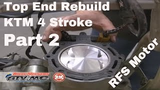 11. Motorcycle Top End Rebuild for Four-Stroke (Part 2 of 2)