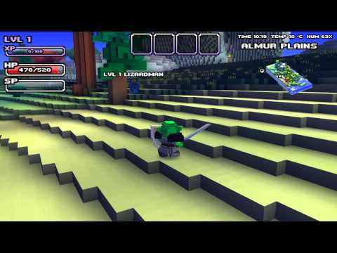 Cube World: Weapon Overview