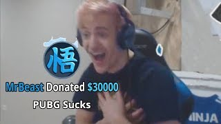 I Donated $30,000 To My Favorite Twitch Streamer (ninja)