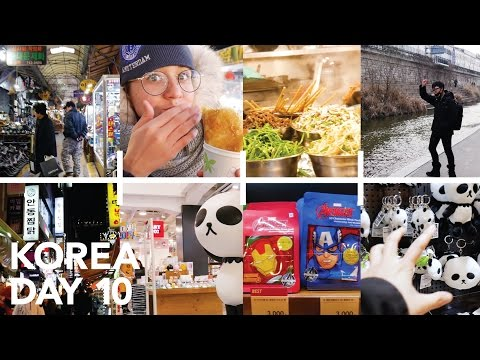 Street Food At Gwangjang Market - Korea Day 10