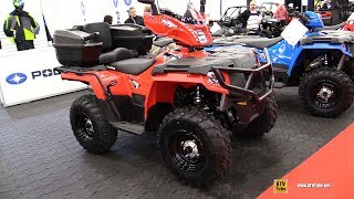 10. 2019 Polaris Sportsman 570 Accessorized Recreational ATV - Walkaround - 2018 Drummondville ATV Show