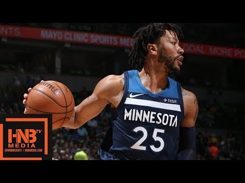 Minnesota Timberwolves vs Houston Rockets Full Game Highlights / Game 4 / 2018 NBA Season