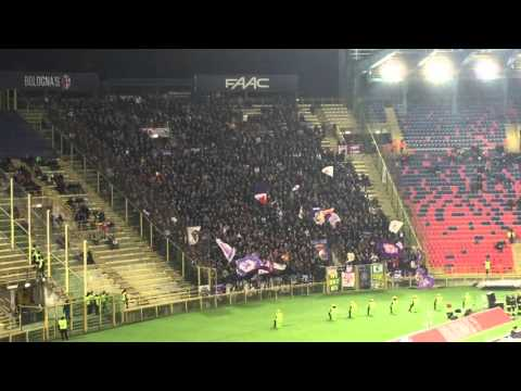 Bologna - Fiorentina 1-1 Tifo curva Fiesole