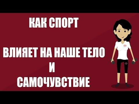 ВЛИЯНИЕ спорта на организм (видео)