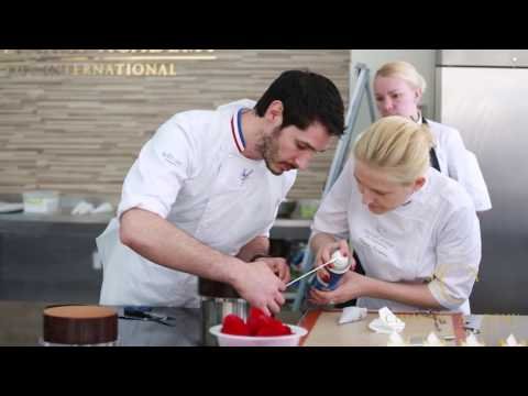 Guillaume Mabilleau Class In Kiev International Culinary Academy, May 9 -13