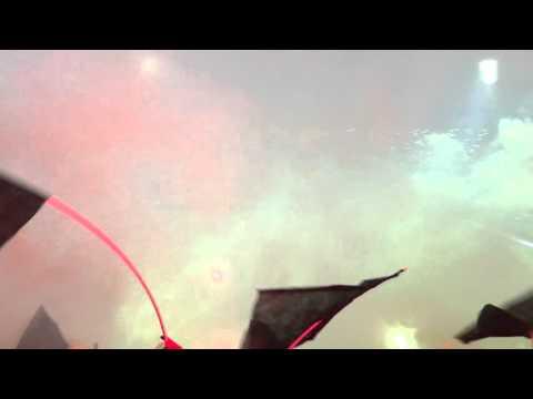 Recibimiento estadio campeón del siglo - Barra Amsterdam - Peñarol