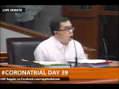 Keh denies preparing documents he submitted to Enrile's offi