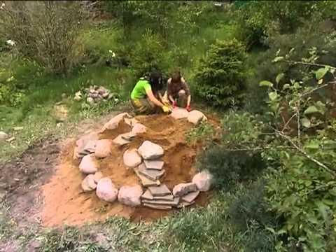 Видео альпийская горка на даче своими руками