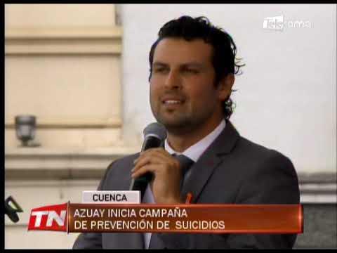 Azuay inicia campaña de prevención de suicidios